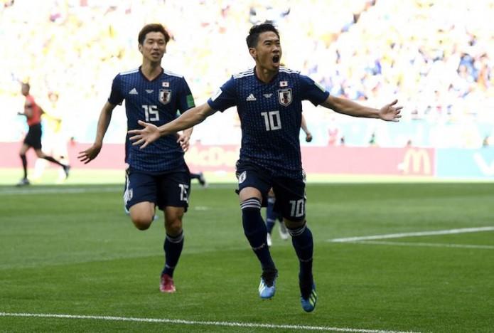1点目の香川選手